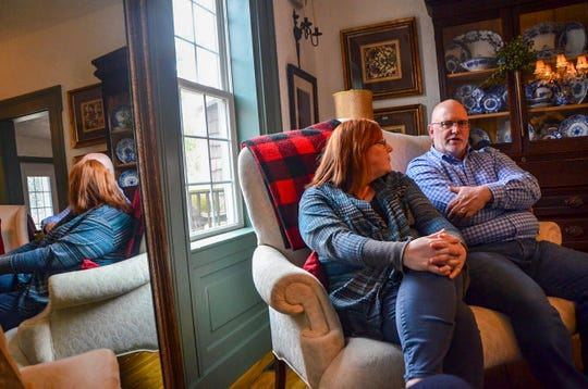 Southern Exposure Herb Farm, at 11269 N Drive North in Battle Creek, hosts workshops, weddings, overseas trips and more. Jennifer (left) and Ken Hendrickson are the new owners.