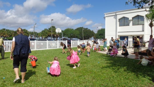 Eastminster Presbyterian Church in Indialantic will host a free Palm Sunday egg hunt, petting zoo, music and family picnic on Sunday, April 14.