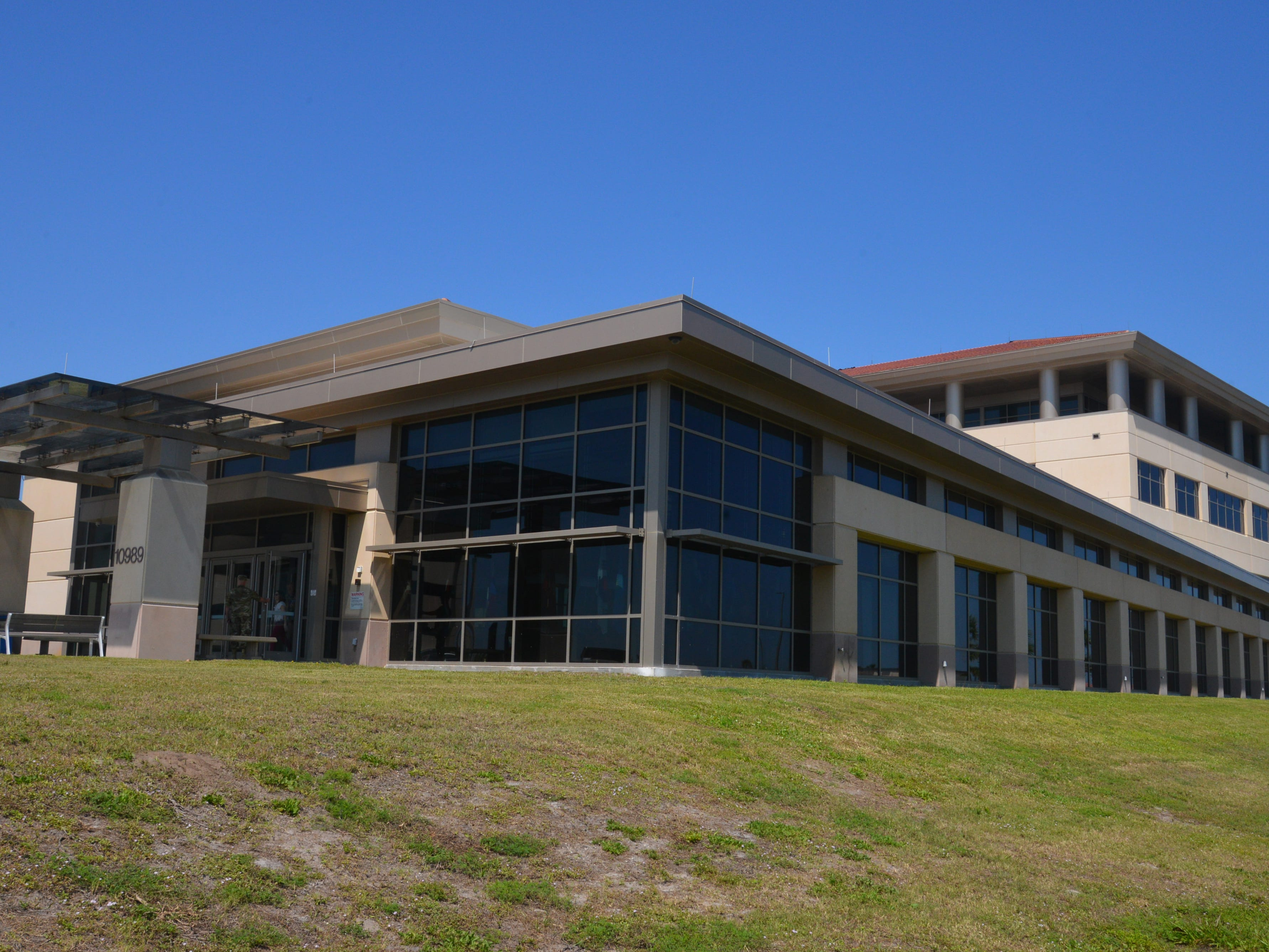 The $158 million AFTAC campus at Patrick Air Force Base.