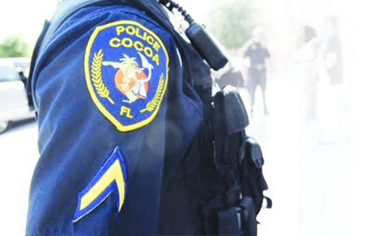 Cocoa police searched apartment complex Tuesday morning.