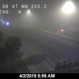 Dense fog could limit visibility to less than quarter mile in some locations