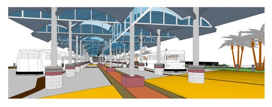 The new Port Ayers Station will have an open and modern concept.