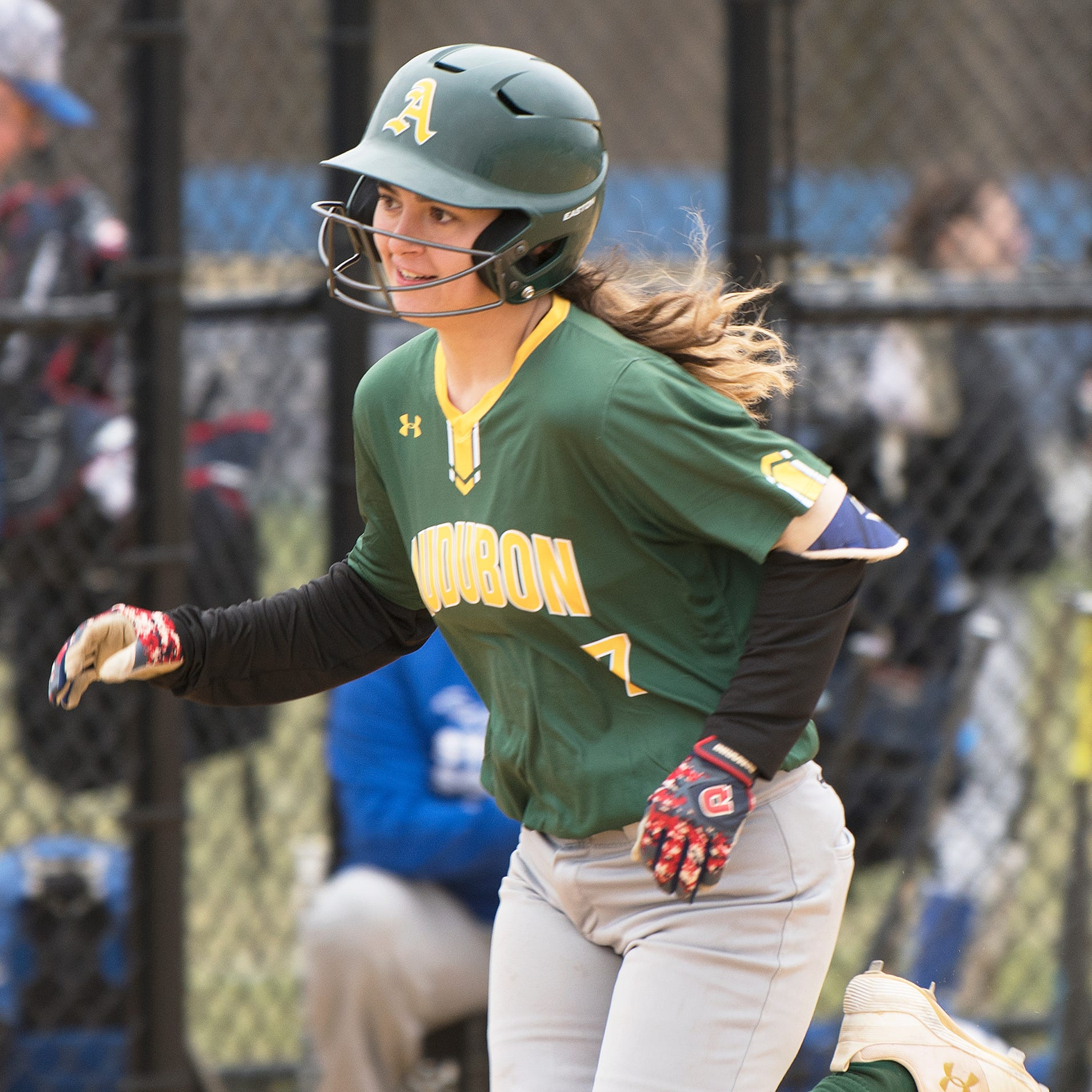 High school softball: Hearn goes homer happy in Audubon debut