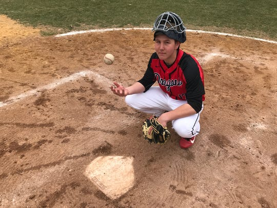 Kingsway's Josh Crowding had three RBIs in the Dragons' season-opening 13-2 win over Clearview.