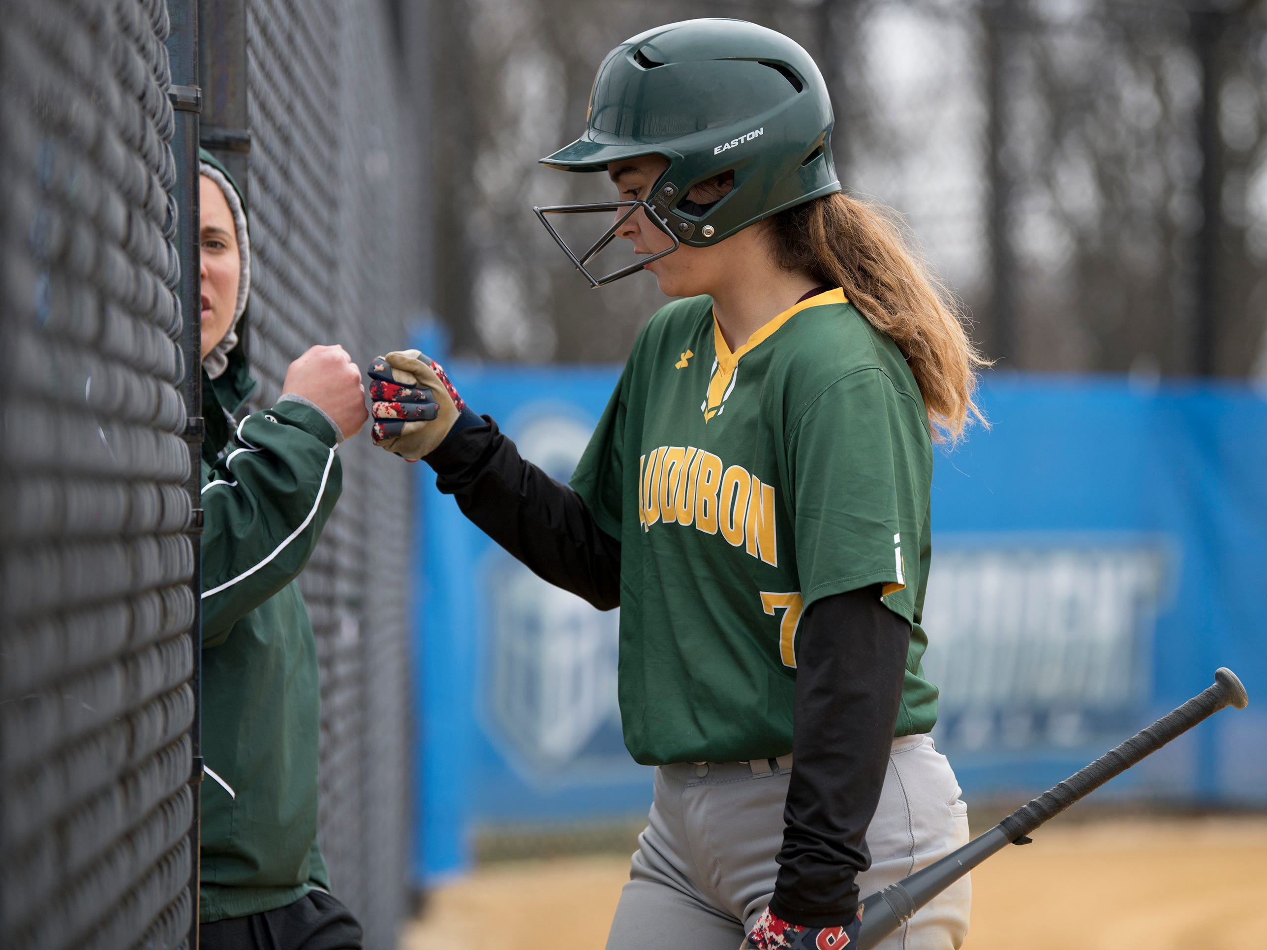 The Audubon High School softball team defeated Sterling, 9-3, at Sterling High School, on Tuesday, April 2, 2019.