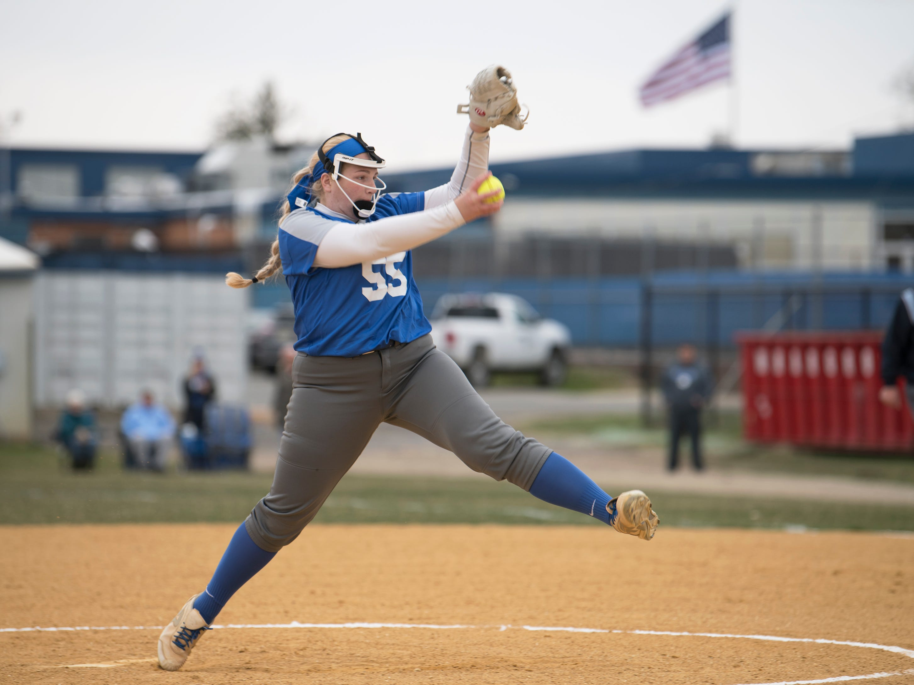 The Audubon High School softball team defeated Sterling, 9-3, at Sterling High School on Tuesday, April 2, 2019.