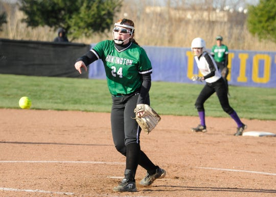 Huntington High School softball defeated Whiteoak 8-7 on Tuesday.