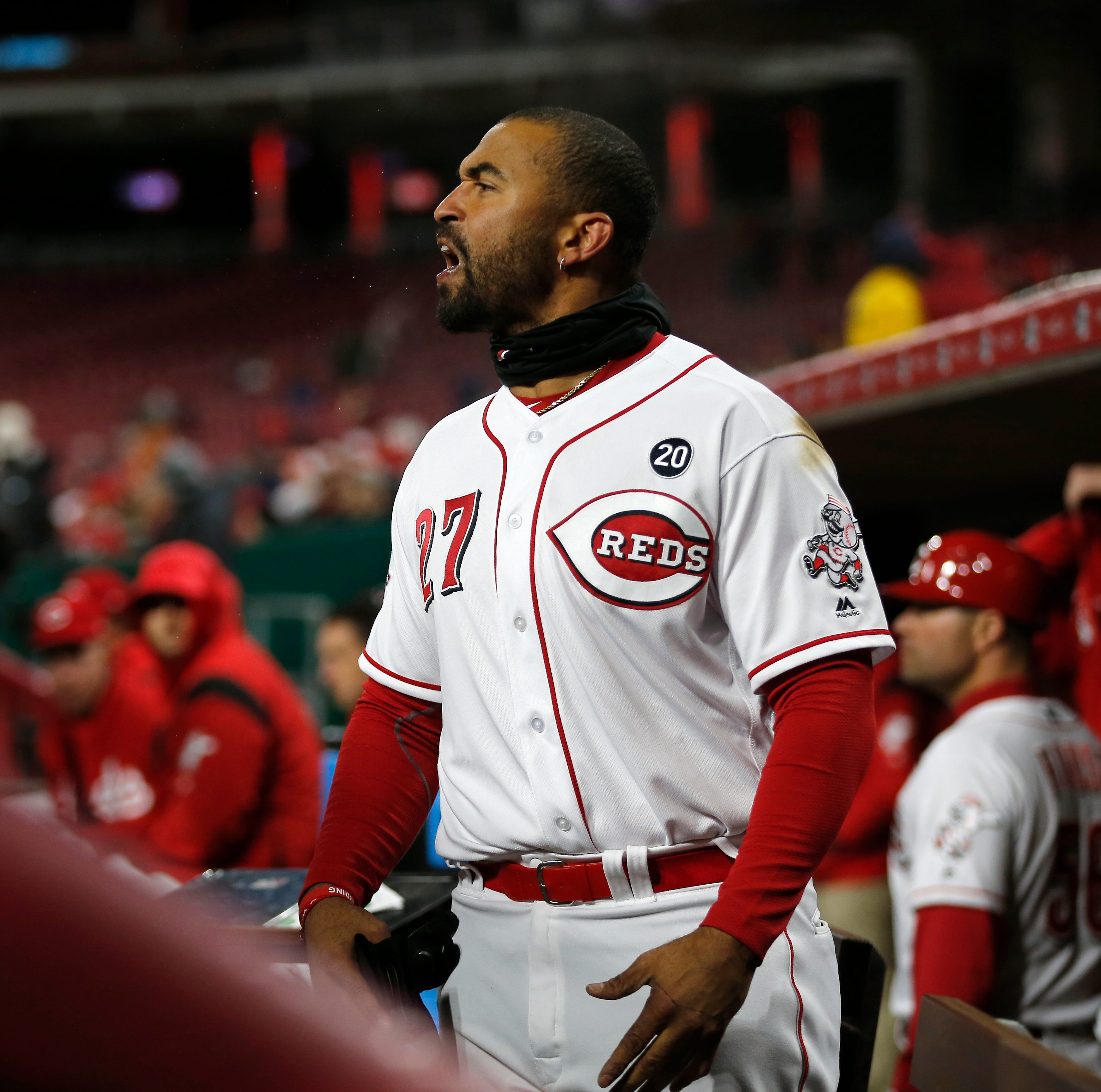 Bryce Harper ejection still leaves Reds' Matt Kemp as leader among MLB players since 2012