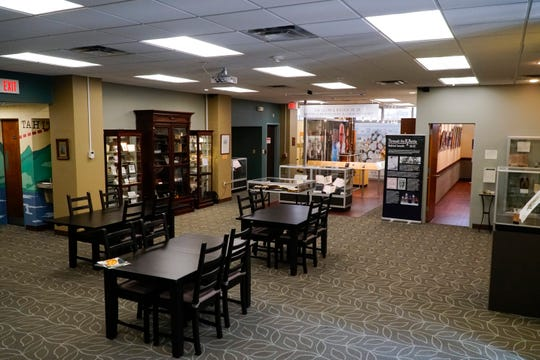 """The Lloyd Library and Museum in downtown Cincinnati. The library currently features """"Through the Rx Bottle,"""" a history exhibit on medicinal cannabis."""
