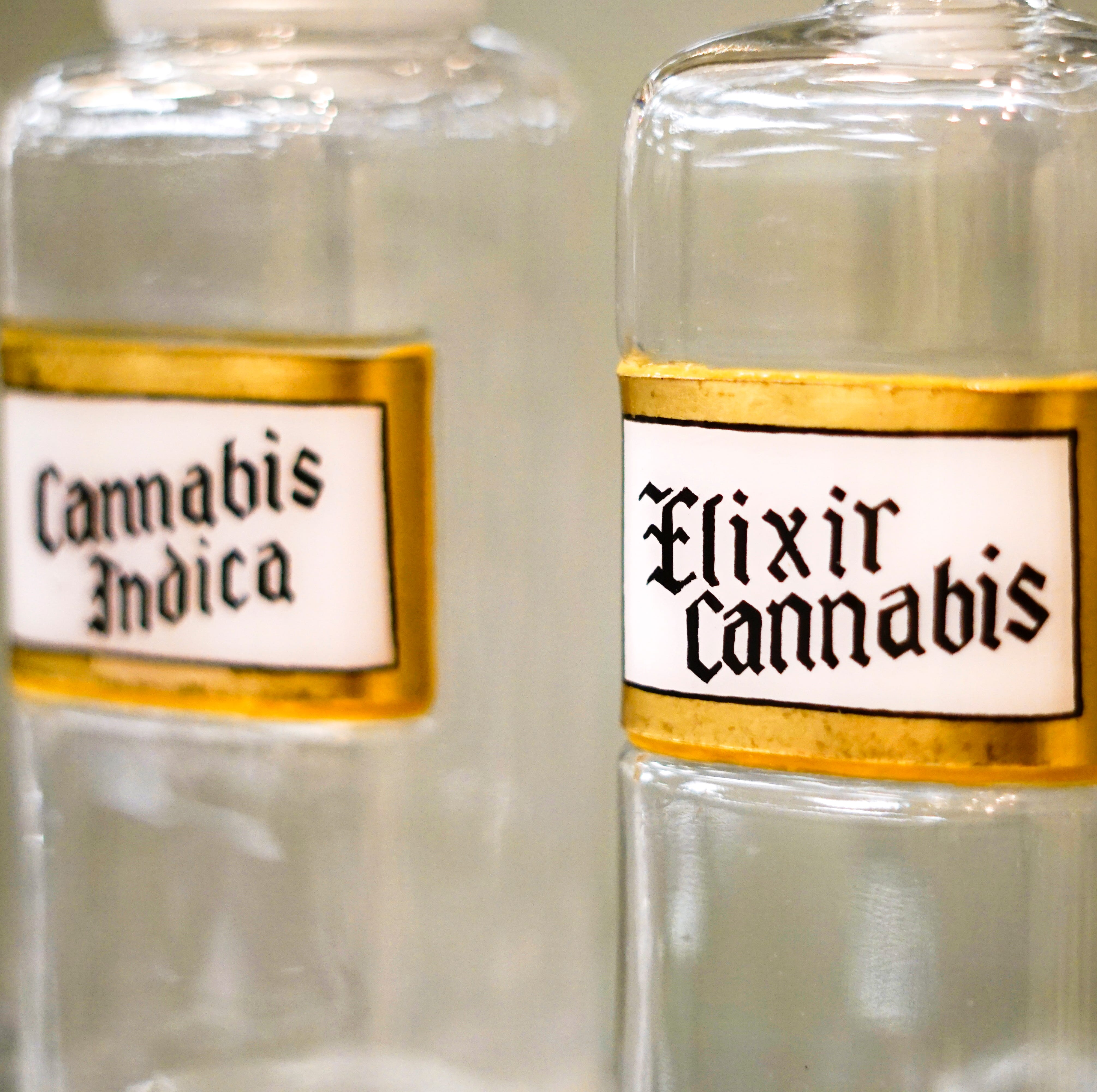 The history of cannabis as medicine? That's tucked away in the stacks of a prestigious collection in Cincinnati