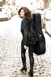 Classical guitarist Sharon Isbin will perform 7:30 p.m. April 5 at Kean University's Enlow Recital Hall in HIllside.