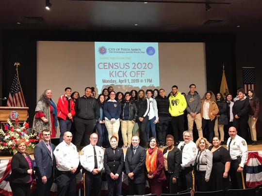 A Census 2020 Kick Off launch was held Monday in Perth Amboy to encourage all to participate.
