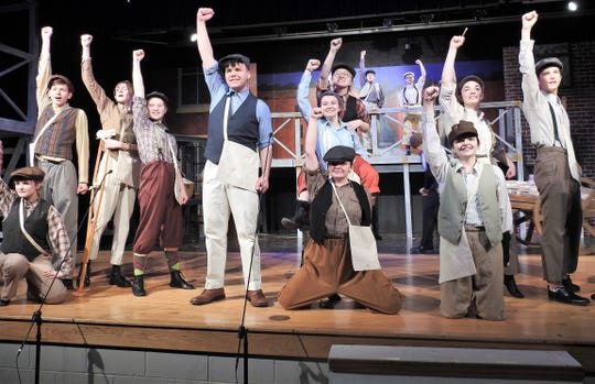 """Newsies"" will have shows at 7:30 p.m. Friday and Saturday and 2:30 p.m. Sunday at Ridgewood High School. Tickets are $10 each."