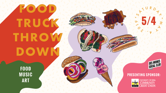 The 5th annual Food Truck Throw Down will take place on May 4.