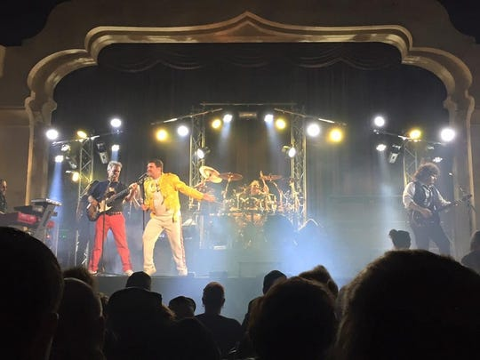 Queen tribute band The Crown Jewels, pictured above, will perform at Prairie Meadows May 25.