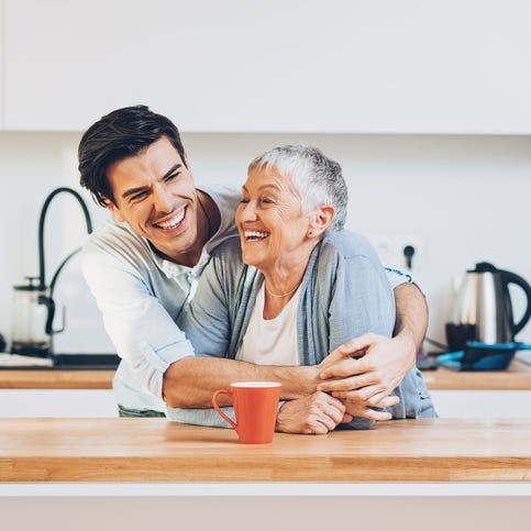 Gay grandson navigating tension with boyfriend about grandma