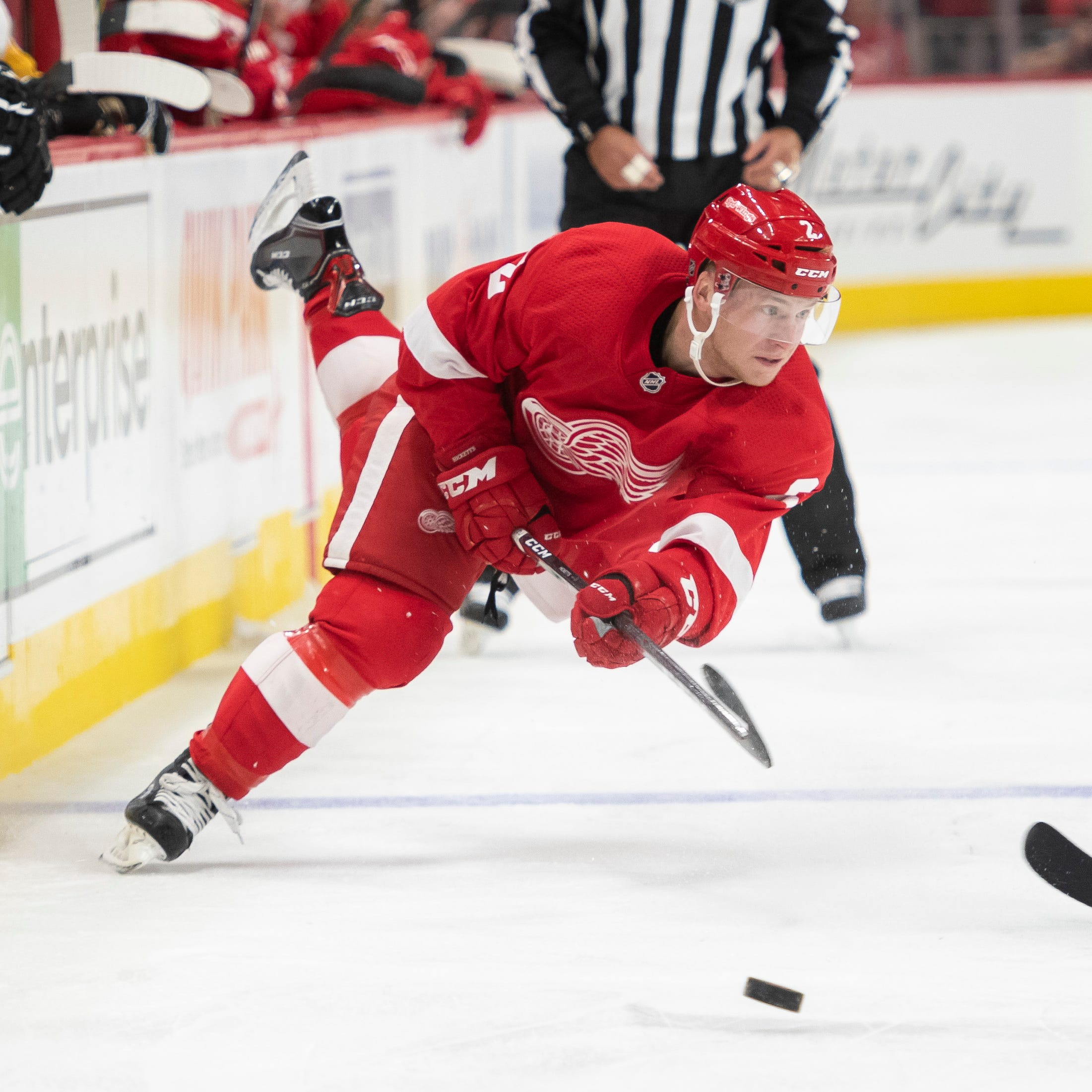 Joe Hicketts excited about another opportunity with Red Wings