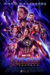 "This is a poster for Walt Disney Co.'s ""Avengers: Endgame."""