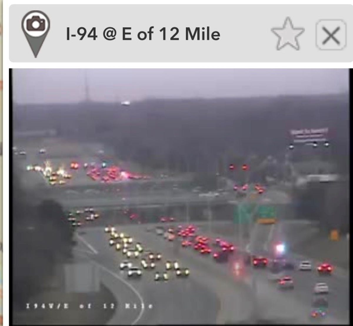 WB I-94 at 12 Mile reopens after theft of cop car leads to crash