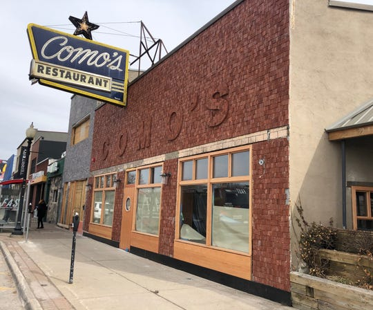 Como's Restaurant is expected to reopen on May 6 after new owners completely gutted the longstanding Ferndale spot.
