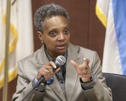 """University of Michigan alumna Lori Lightfoot said her mayoral campaign sent an important message to youth that """"anything is possible."""" She defeated a former schoolteacher Tuesday to become Chicago's first black, female mayor."""