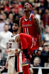 Forward Tariq Owens averages 8.9 points and 5.8 rebounds in his first season at Texas Tech.