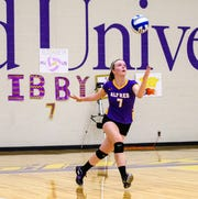 Horseheads High graduate Elisabeth Estep played four seasons of volleyball at Alfred University, helping the Saxons to the Empire 8 Tournament as a junior and senior.