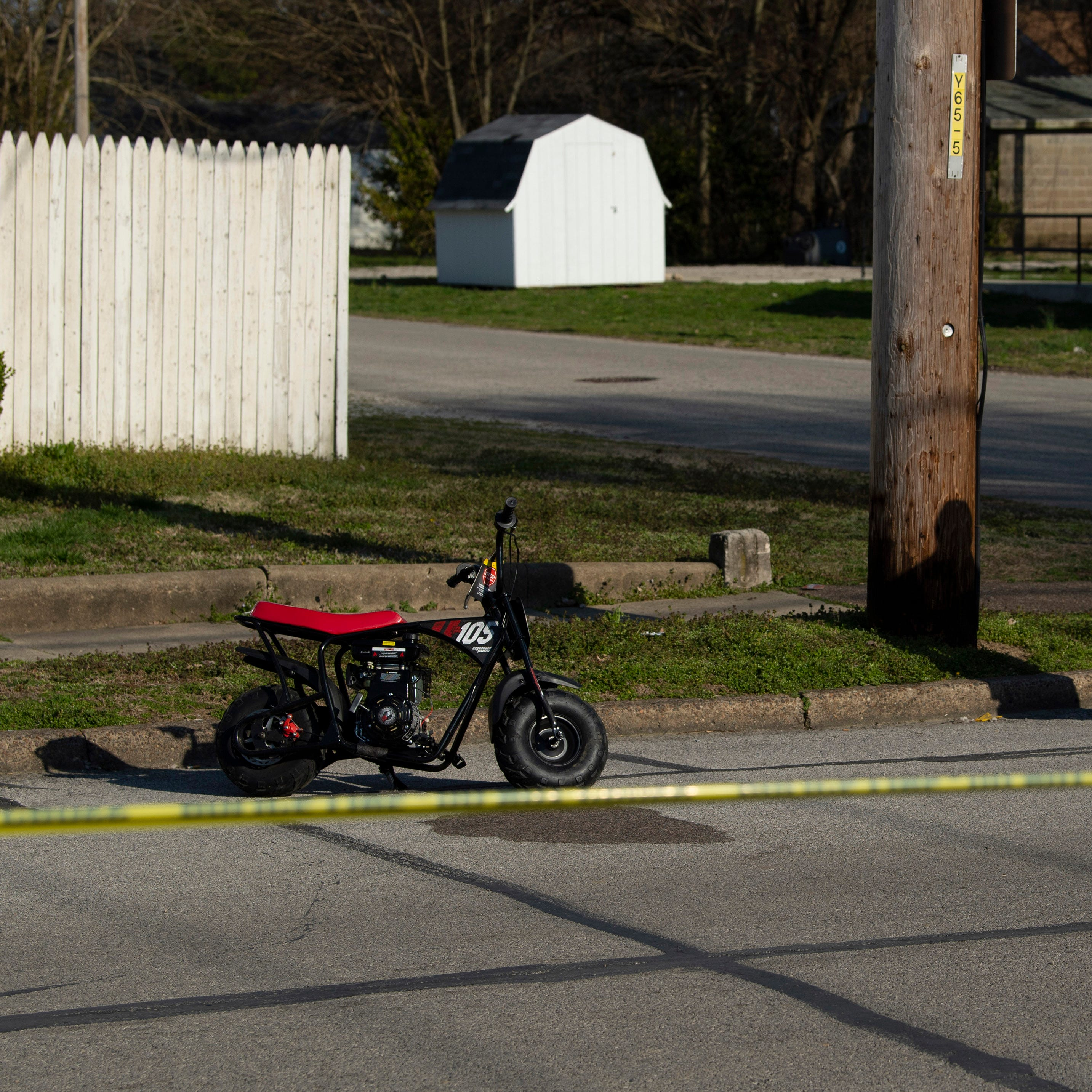 Young mini-bike rider hurt in collision with car at Governor and Cass