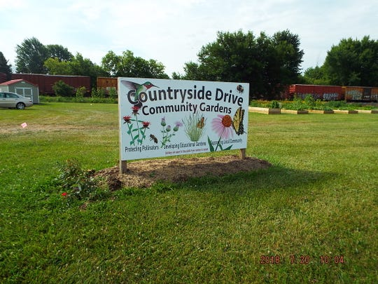 The Countryside Drive Community Gardens is coordinated through the Master Gardeners program
