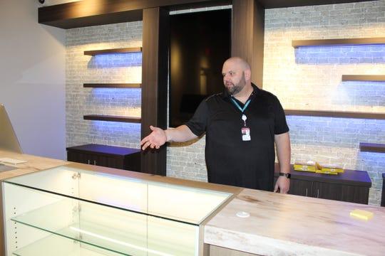 Terrasana General Manager Dan Stotridge said six employees will help customers at the new medical marijuana dispensary in Fremont.
