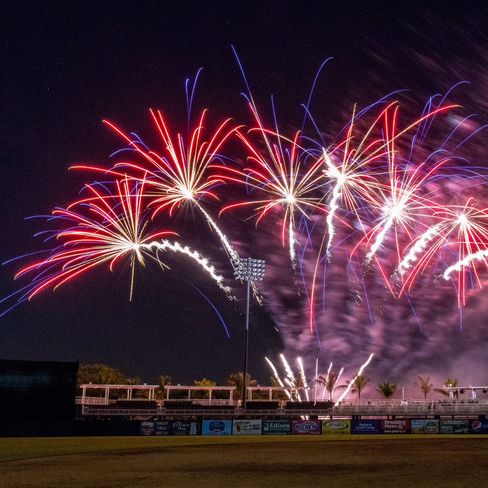 Fireworks return to Fort Myers Miracle for Friday home games and Fourth of July