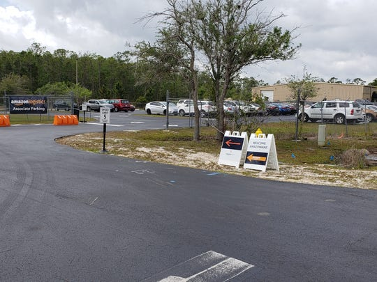 The new Amazon delivery station in Fort Myers on Bavaria Road, off Treeline Avenue, just north of Daniels Parkway opened February 28.