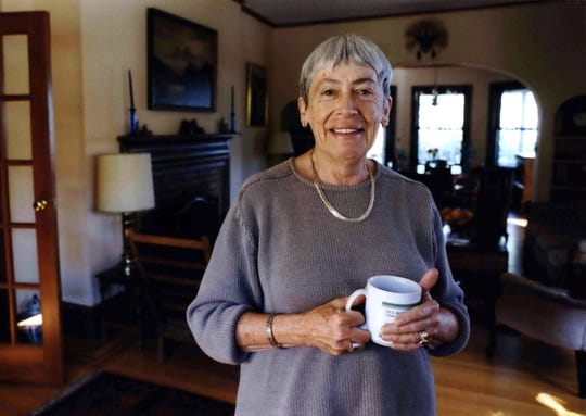 "Fantasy and science fiction Ursula K. Le Guin, who died in 2018, is the subject of the documentary ""Worlds of Ursula K. Le Guin."""