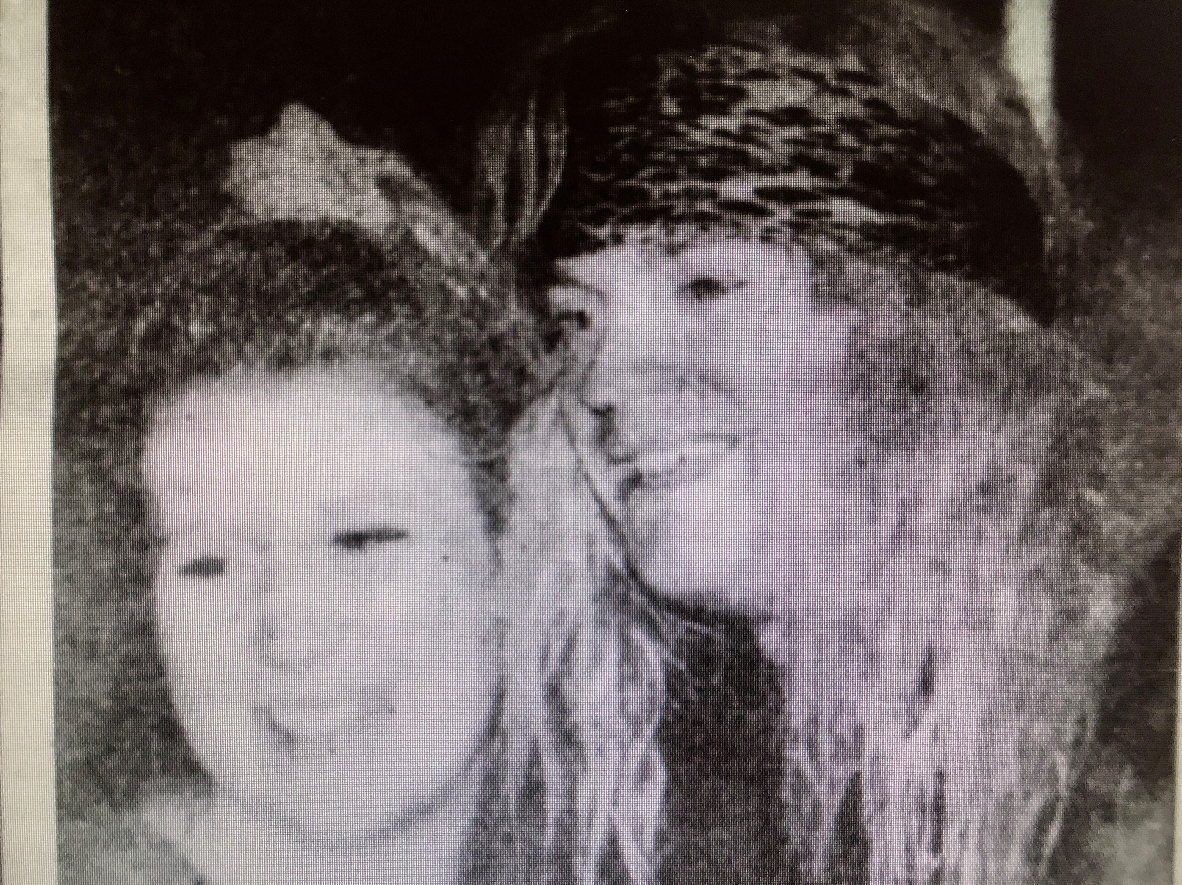 Denise Ulman of New London poses with Bret Michaels in 1993 at a Poison rehearsal party at Brown County Veterans Memorial Arena for the band's Native Tongue World Tour launch.