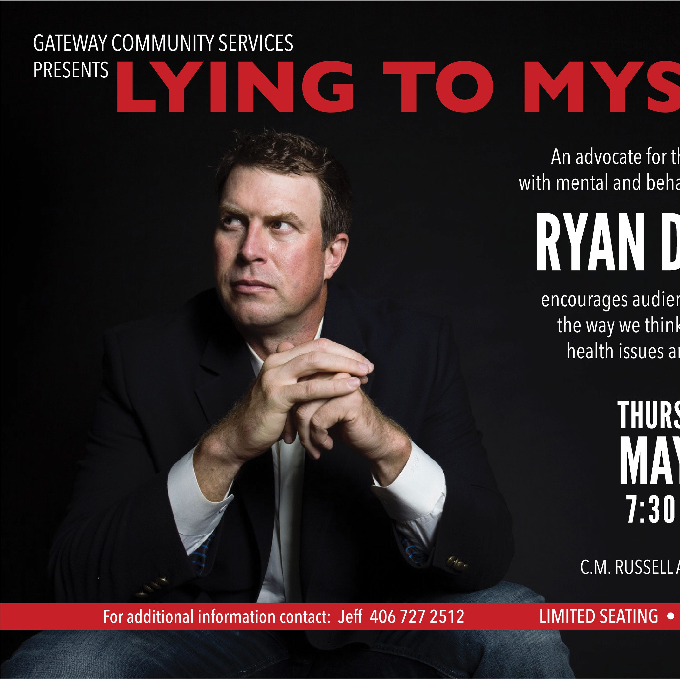 Ryan Leaf to speak at CMR in May on mental health, addiction issues