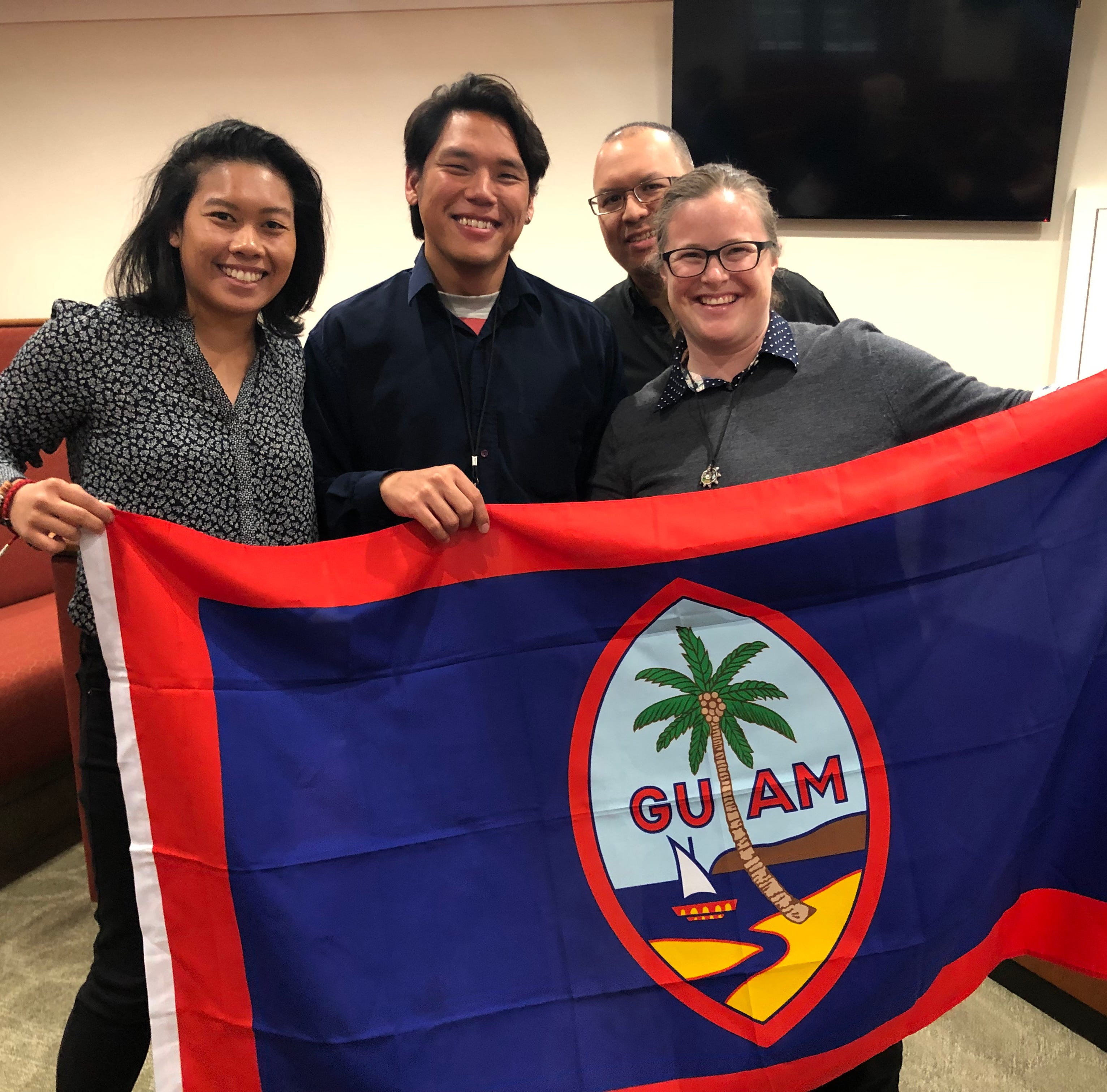 Four Guam scholars participate in Harvard history conference