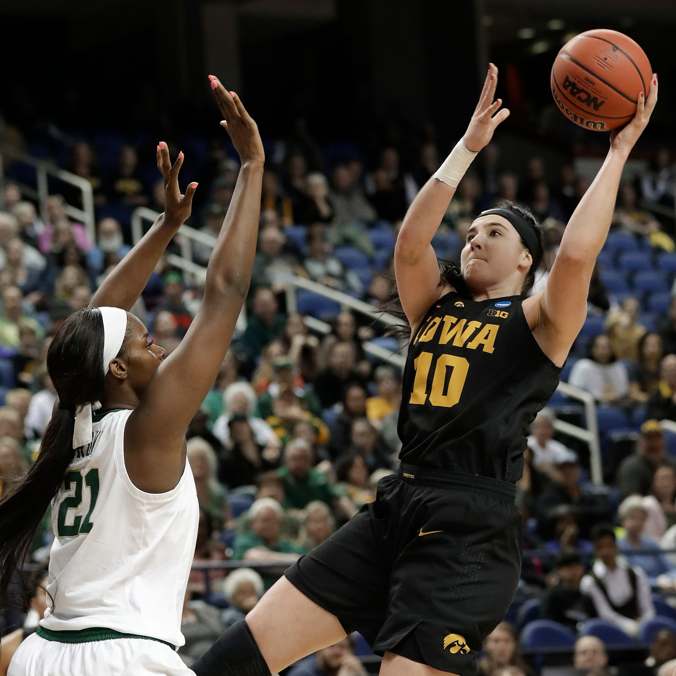 Leistikow: Her incredible career over, Megan Gustafson's Iowa legacy goes beyond numbers