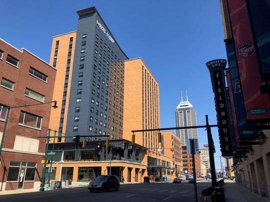 Hyatt Place and Hyatt House hotels, 130 S. Pennsylvania St. across from Bankers Life Fieldhouse, opened after a year and a half of construction.