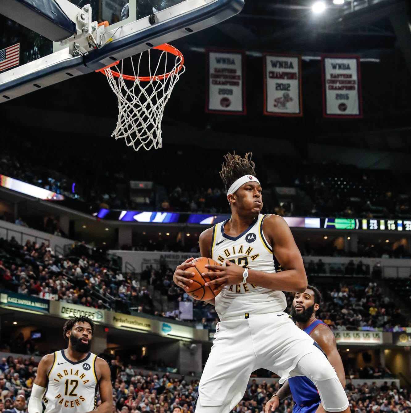 Once held back by 'soft' label and resentment, Myles Turner's focus is clear for playoffs
