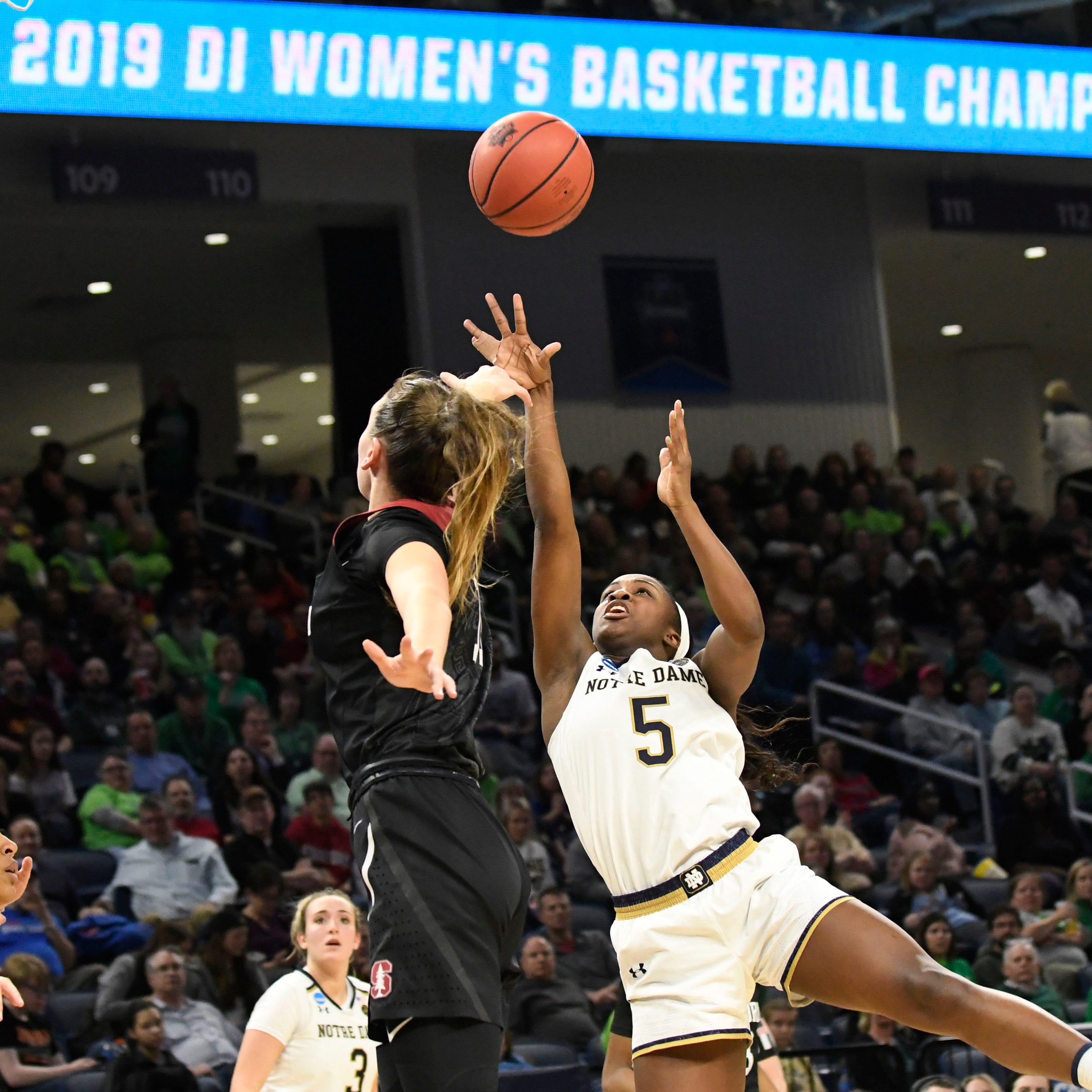 Jackie Young takes charge as Notre Dame blasts Stanford, earns return trip to Final Four