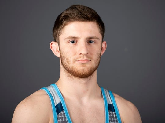 Josh Pietarila, Hardin Valley Academy wrestling.Tuesday, March 5, 2019.