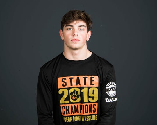 Colby Dalon, PrepXtra player of the year nominee poses for a head shot at the Knoxville News Sentinel photo studio in Knoxville, Tennessee on Tuesday, March 26, 2019.