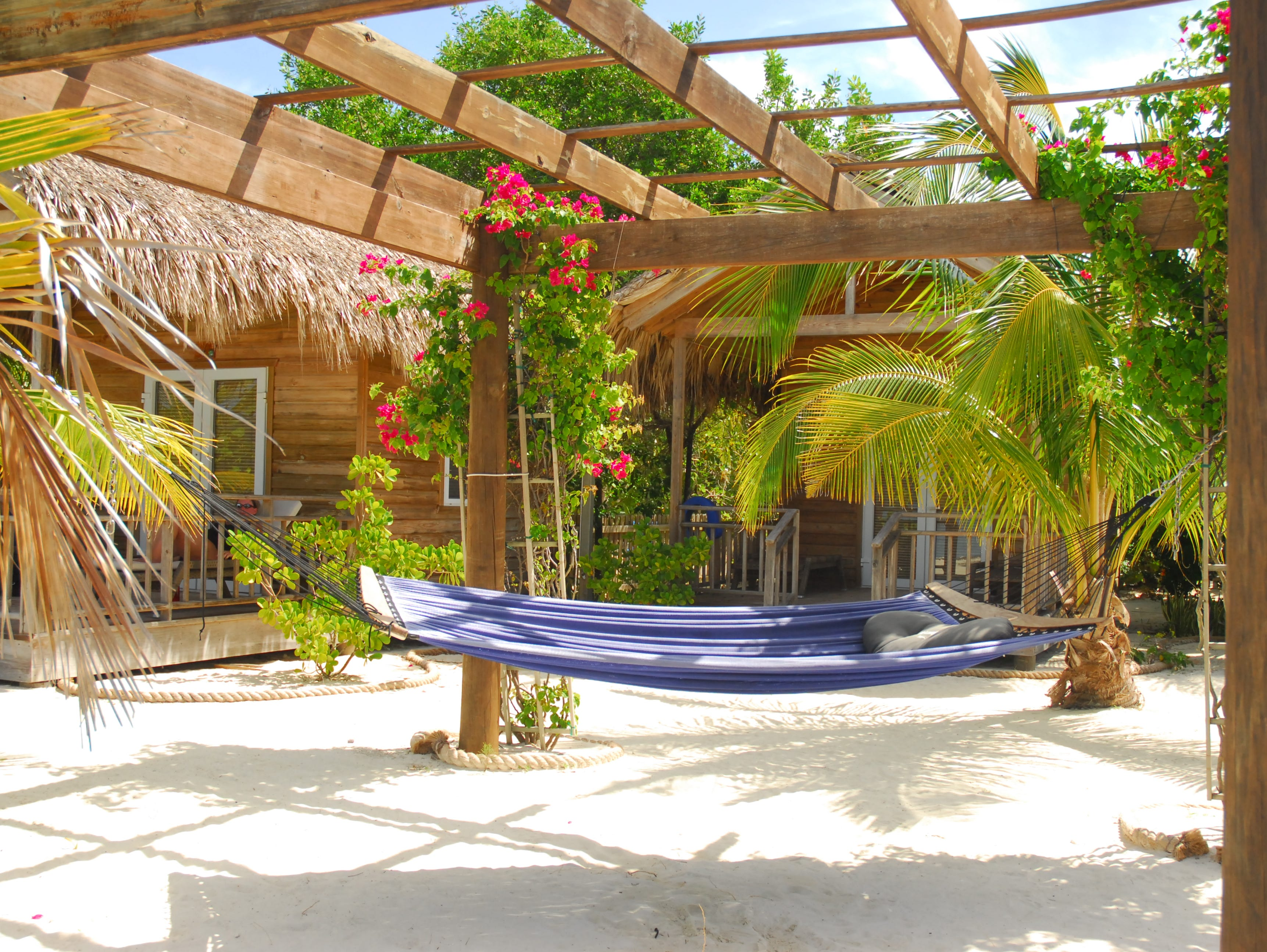 What better way to enjoy the sunshine than in a hammock, like this one from a cruise to Cancun, 2012.