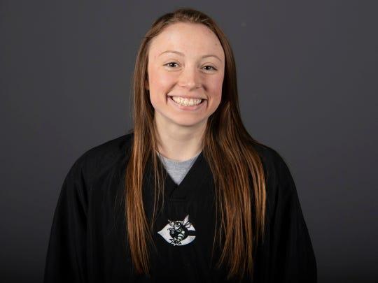 Annie Rimmer, Carter High School swimming. Thursday, February 28, 2019.