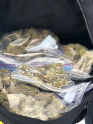 Broussard police arrested Kol Owens, 20, of Lafayette, after they say they found a pound of marijuana in his backpack.