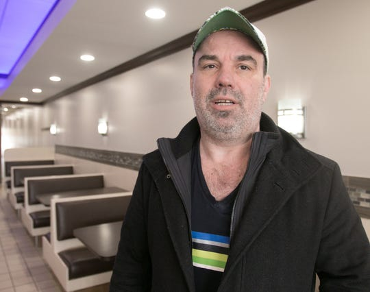 Alex Berisic, shown Tuesday, April 2, 2019, original co-owner of Lucas Coney Island in Brighton, has retaken ownership after selling it in 2013. He and new partner and will name it George's Coney Island.