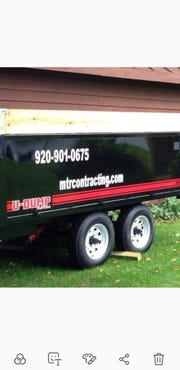 Manitowoc County Sheriff's Office says this trailer was taken from a Town of Kossuth property on County Road K some time between March 26 and April 2.