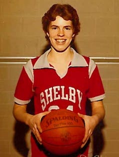 Jodi Roth-Korbas led the Shelby Whippets to a state championship in the 1982-83 season