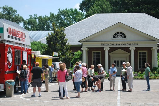 Food Truck Fridays at the Dixon Gallery & Gardens starts April 5 and runs through the end of September.