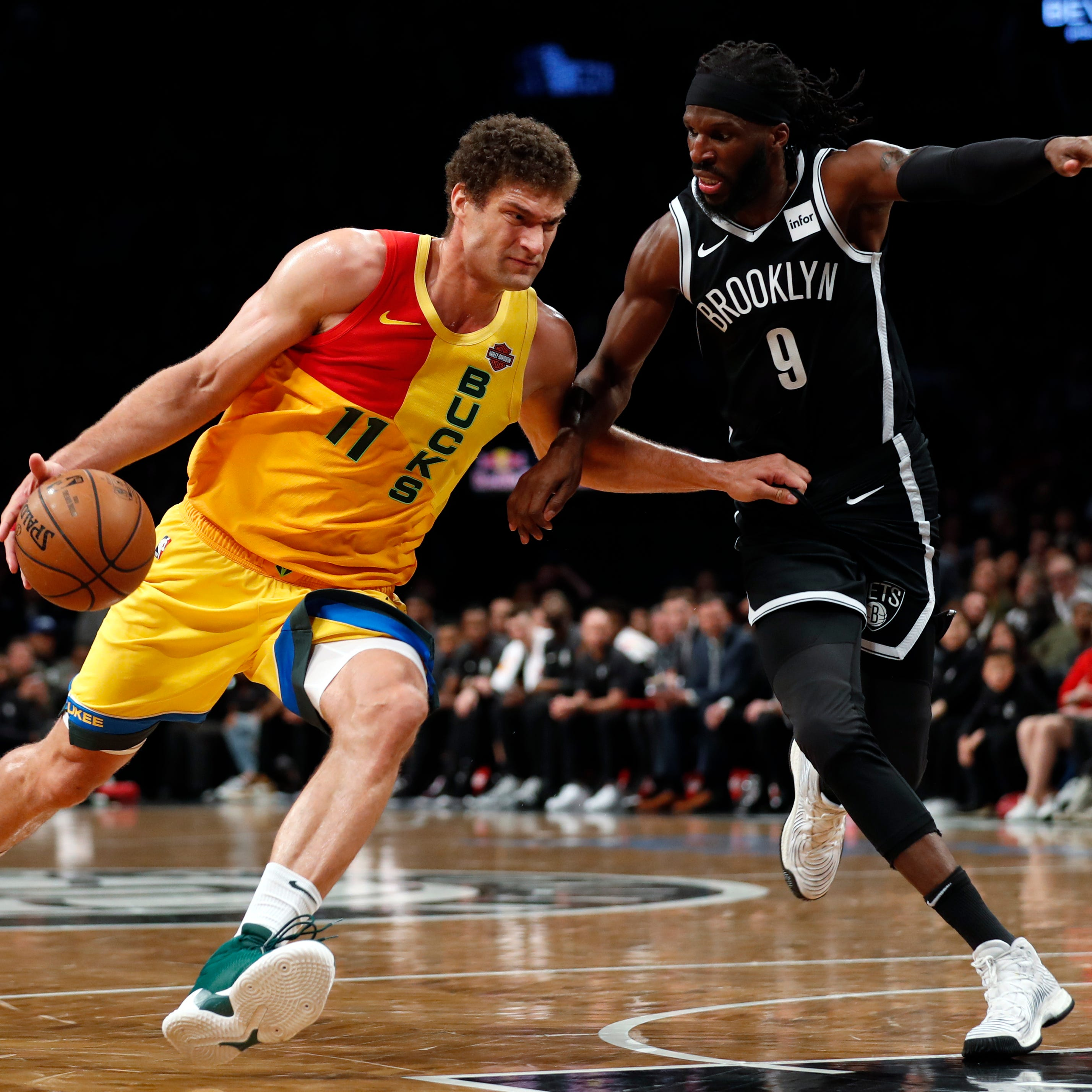 Brook Lopez has been the iron man and two-way anchor for injury-riddled Bucks this season